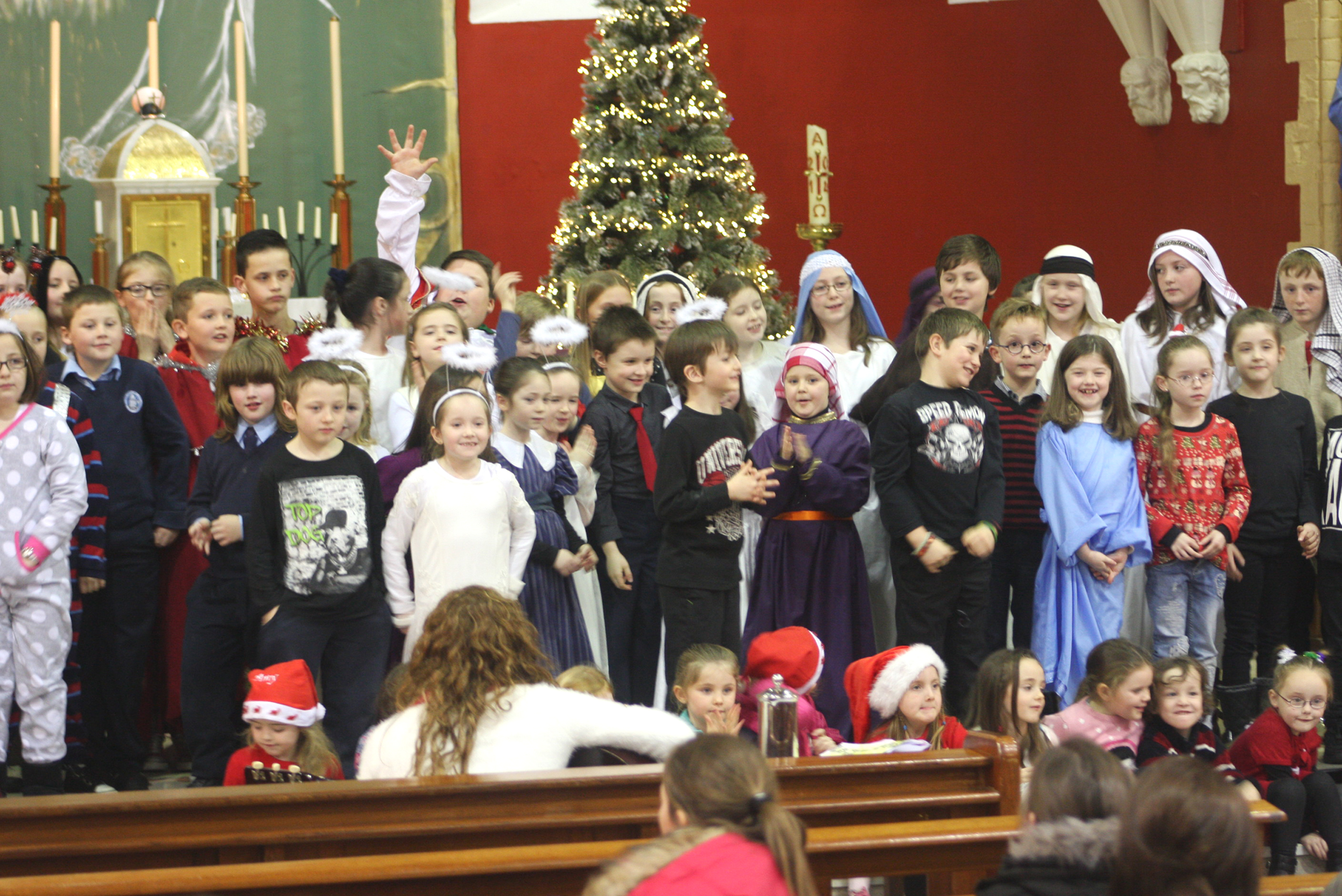 St Oliver's NS – Christmas Plays 2014