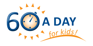 60 a Day for Kids logo
